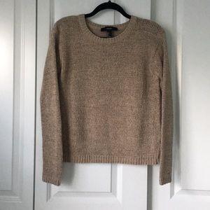 Sweaters - Tan Knit Sweater